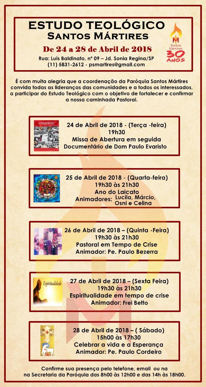 Semana Teológica Santos Mártires