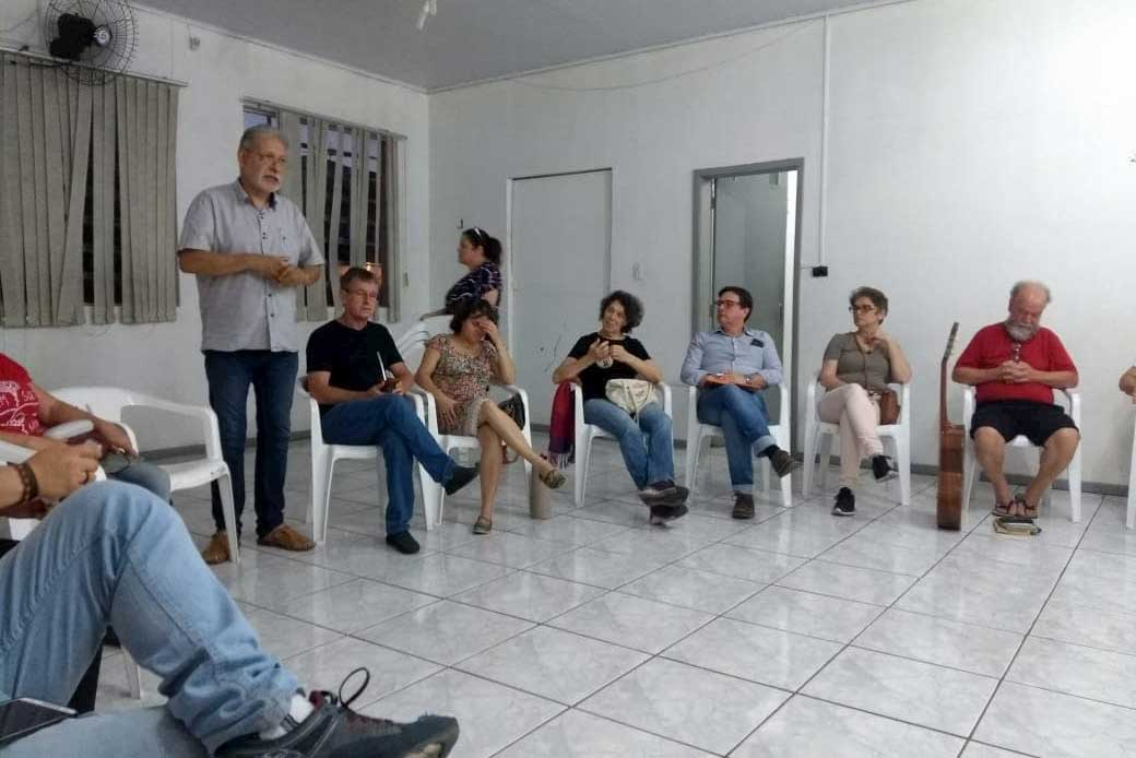 Participantes do Encontro Estadual em RS
