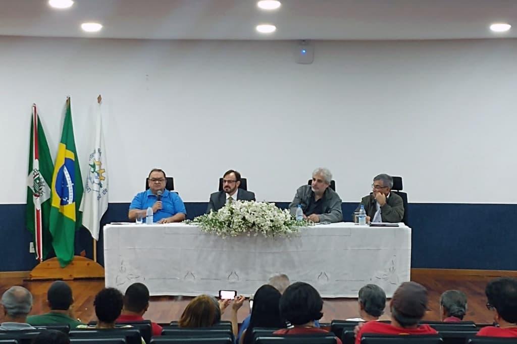 Mesa do Fórum Religião, Política e Direitos Humanos