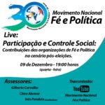 Live: Participação e Controle Social